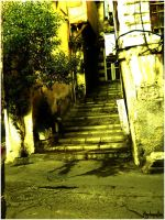 old stairs by psychopathic-jad