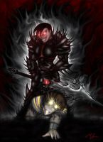 Champion of Darkness Artix by Xzeromus