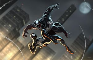 Spider-Man vs Venom by ZeroMayhem