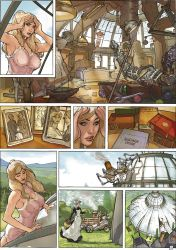 Songes Tome 2 Page 11 Final Art by TerryDodson