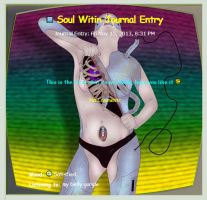 Soul Within Journal Entry by artiststudio-us