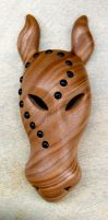 African Wild Ass Tribal Mask by FauxHead