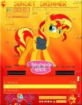 Sunset Shimmer amp by shadesmaclean