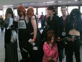 Otakon 2007 - Visual Kei Group by InkkyFikky