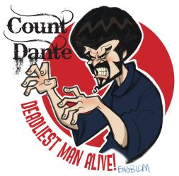 Count Dante, Deadliest Man Alive! by mengblom