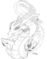 Dragoness by mano-emanuel