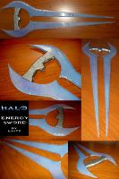 Energy Sword // Halo by Laitz