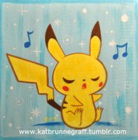 Pikachu Painting by fuish