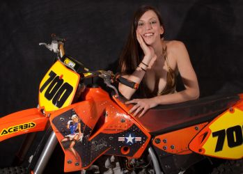 Chelsea and the KTM by unionjack67