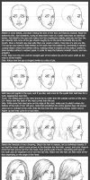 Basic Head Tutorial: Female by timflanagan