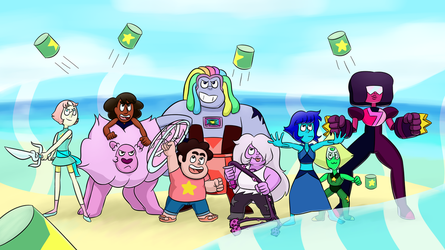 The Crystal Gems by StivenwithanI