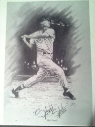 Ted Williams  by JCVazquezart