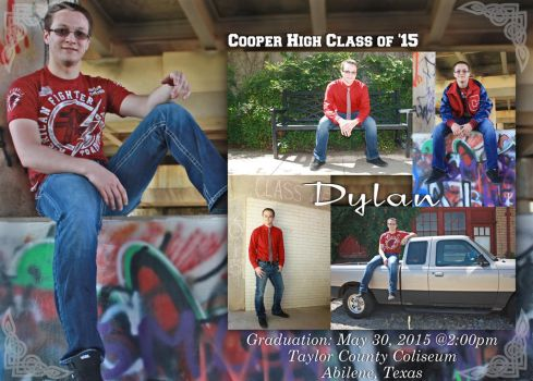 Dylan's Graduation Announcement by Pammymcb