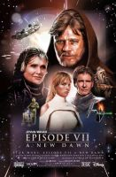 Ep7 Star wars one sheet poster by PibbyPierce