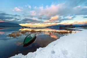 lake Cerknica by eriksimonic