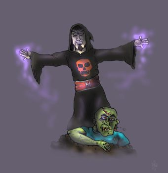 The Necromancer by SnipperWorm