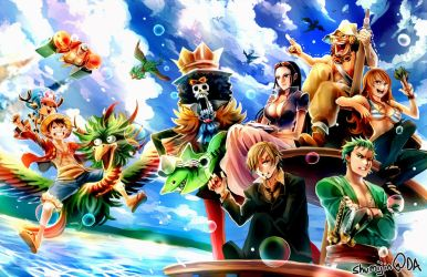 One Piece - Two Years Later by Shumijin