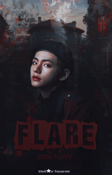 Flare / Wattpad Book Cover 3 by sahlimamat