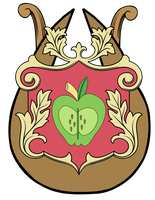 Big Macintosh Coat of Arms by Lord-Giampietro