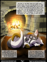 Fallen World web comic! - Page 1 by EpicSaveRoom