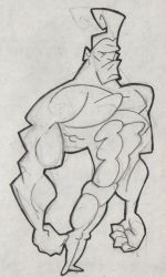 Strong Man by doncroswhite