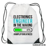 Electronics Engineer in the making String Bag Desi by Clarkology