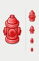 Fire Hydrant Tango Icon by Jaanos