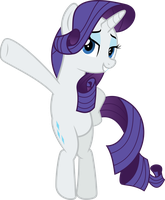 MLP Vector - Rarity #7 by jhayarr23