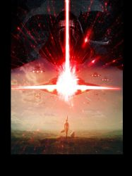 The Force Awakens unlettered by LivioRamondelli