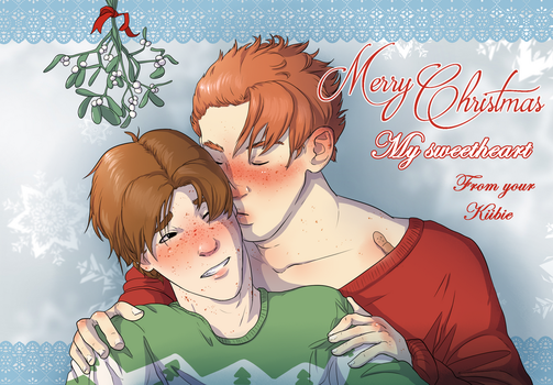 Merry christmas from Tristan and Isaac by Kiibie