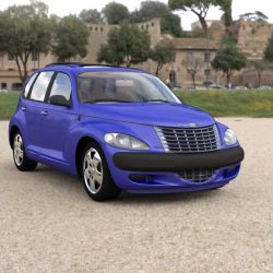 PT Cruiser In a Field by VanishingPointInc