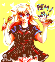 Fem!Way Curry Master by WaywardDoodles