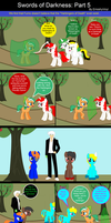 Family Time: Swords of Darkness Part 5 by EmoshyVinyl