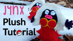 DIY: Jynx Plushie Tutorial | Free Pattern! by gamerwhit