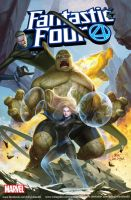 Fantastic Four #1 - Forbidden Planet by inhyuklee