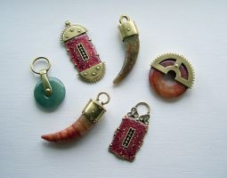 Clockpunk pendants 8 by Astalo