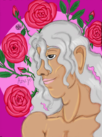 Azazyel - Prince of Roses by Cians-Sacred-Lair