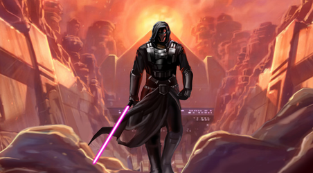 The Old Republic wallpaper Revan by zardis1965