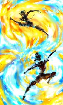 AtLA: Collision by Kaytara