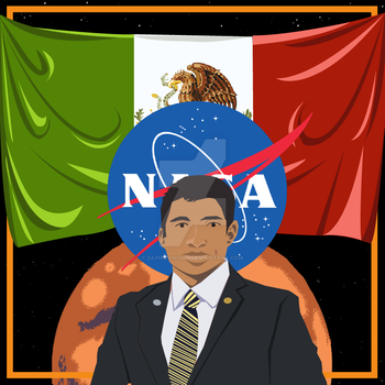 Mexican on Mars by ZaphireNomm