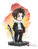 Final Fantasy VIII : Squall Leonhart by Milee-Design