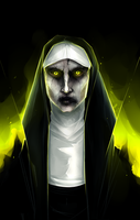 The Nun by Varjopihlaja