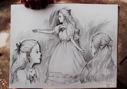 Anna's Sketch of Marnie prt. 2 by ryon-art