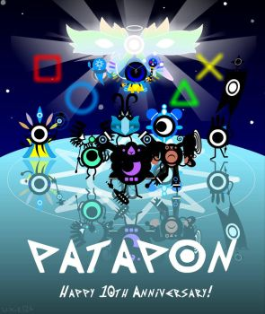 Patapon's 10th Anniversary! by Uxie126