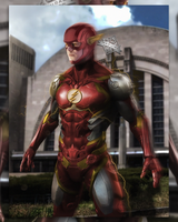 Flash suit update  by Spider-maguire