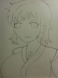 [Request] Kaede - Manyuu Hikenchou by SilverRBlade
