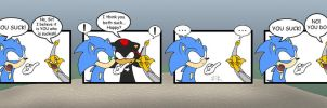 Sonic - Black Knight Issues by KaiThePhaux