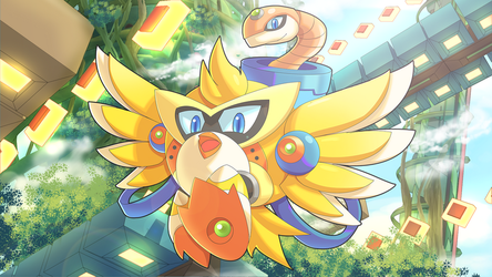 Commission: Chicken Wiggle X by ultimatemaverickx