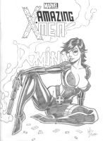Domino Sketch Cover Pencils by broken-nib