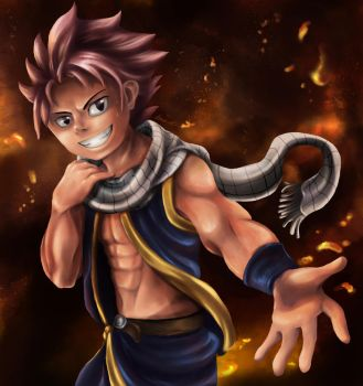 Natsu: All Fired Up! by Cronoan